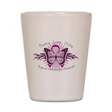 Fibromyalgia Butterfly Shot Glass