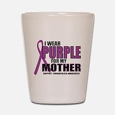 Fibromyalgia:Purple for Mothe Shot Glass