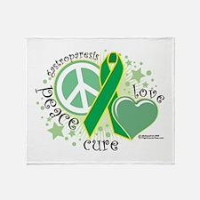 Gastroparesis PLC Throw Blanket