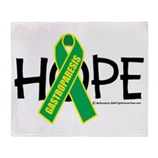 Gastroparesis Hope Throw Blanket