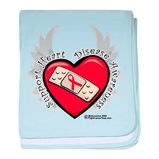 Heart Disease New Wings baby blanket