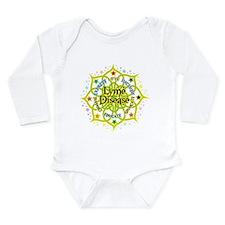 Lyme Disease Lotus Long Sleeve Infant Bodysuit