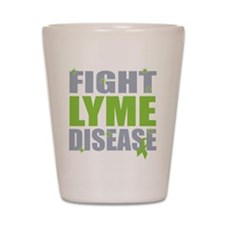 Fight Lyme Disease Shot Glass