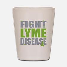 Fight Lyme Disease Shot Glass