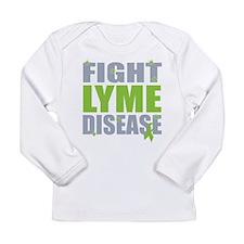 Fight Lyme Disease Long Sleeve Infant T-Shirt