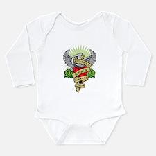 Lyme Disease Dagger Long Sleeve Infant Bodysuit