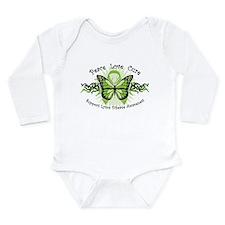 Lyme Disease Butterfly Long Sleeve Infant Bodysuit