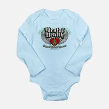Mental Health Wings Long Sleeve Infant Bodysuit