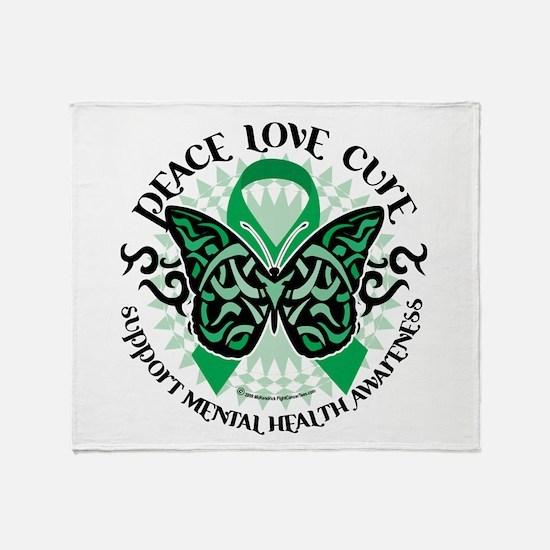 Mental Health PLC Throw Blanket