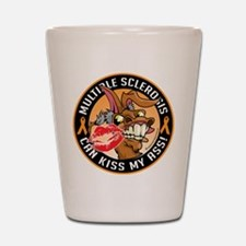 Multiple Sclerosis Can Kiss M Shot Glass