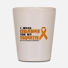 MS Orange for Daughter Shot Glass