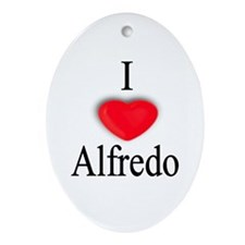 Alfredo Oval Ornament
