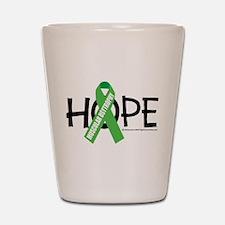 Muscular Dystrophy Hope Shot Glass