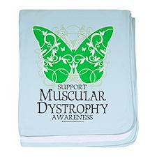 Muscular Dystrophy Butterfly baby blanket