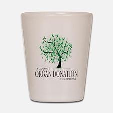 Organ Donation Tree Shot Glass