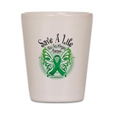 Organ Donor Save A Life Butte Shot Glass