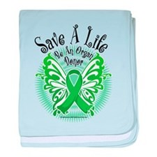 Organ Donor Save A Life Butte baby blanket