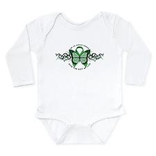 Organ Donor Tribal Long Sleeve Infant Bodysuit