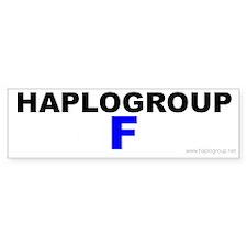 Haplogroup F Bumper Bumper Sticker