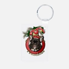 Christmas - Deck the Halls - Frenchies Keychains