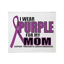 Pancreatic Cancer: Mom Throw Blanket
