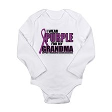 Pancreatic Cancer: Grandma Long Sleeve Infant Body