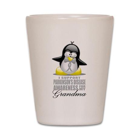 Parkinson's Penguin for Grand Shot Glass