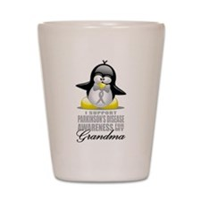 Parkinson's Penguin for Grand Shot Glass