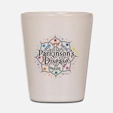 Parkinson's Disease Lotus Shot Glass