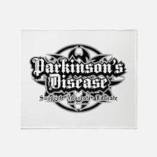 Parkinson's Tribal Throw Blanket