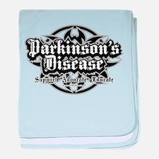 Parkinson's Tribal baby blanket
