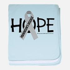 Parkinson's Disease Hope baby blanket