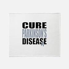 Cure Parkinson's Disease Throw Blanket