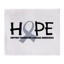 Breast Cancer Hope Throw Blanket