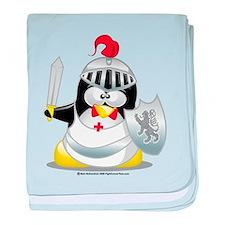 Knight Penguin baby blanket