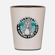 PCOS Cat Fighter Shot Glass
