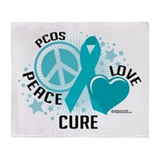 PCOS PLC Throw Blanket
