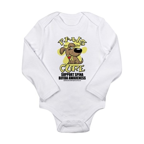 Paws For The Cure Dog Spina B Long Sleeve Infant B