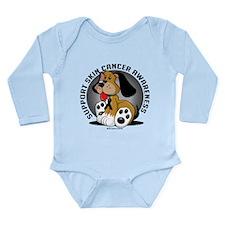 Skin Cancer Dog Long Sleeve Infant Bodysuit