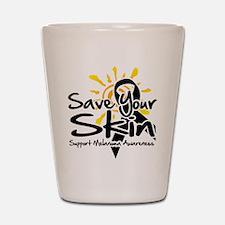Save Your Skin Shot Glass