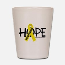 Suicide Prevention Hope Shot Glass