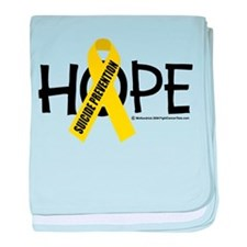 Suicide Prevention Hope baby blanket