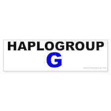 Haplogroup G Bumper Bumper Sticker