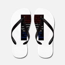 Cute Civil liberties Flip Flops