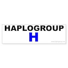 Haplogroup H Bumper Bumper Sticker