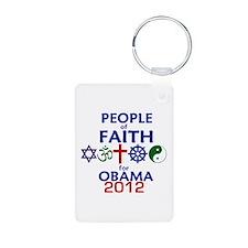 Obama Faith 2012 Keychains
