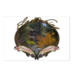 Fly fishing Postcards (Package of 8)