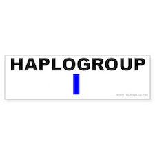 Haplogroup I Bumper Bumper Sticker