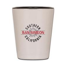San Simeon California Shot Glass