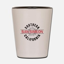 San Simeon California Shot Glass